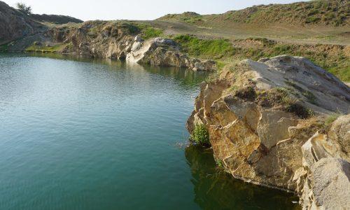 Munții Măcinului - Lacul Iacobdeal